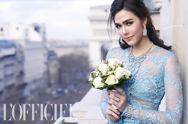 ชุดแต่งงาน ชมพู่ อารยา โดย L'Officiel Thailand Wedding
