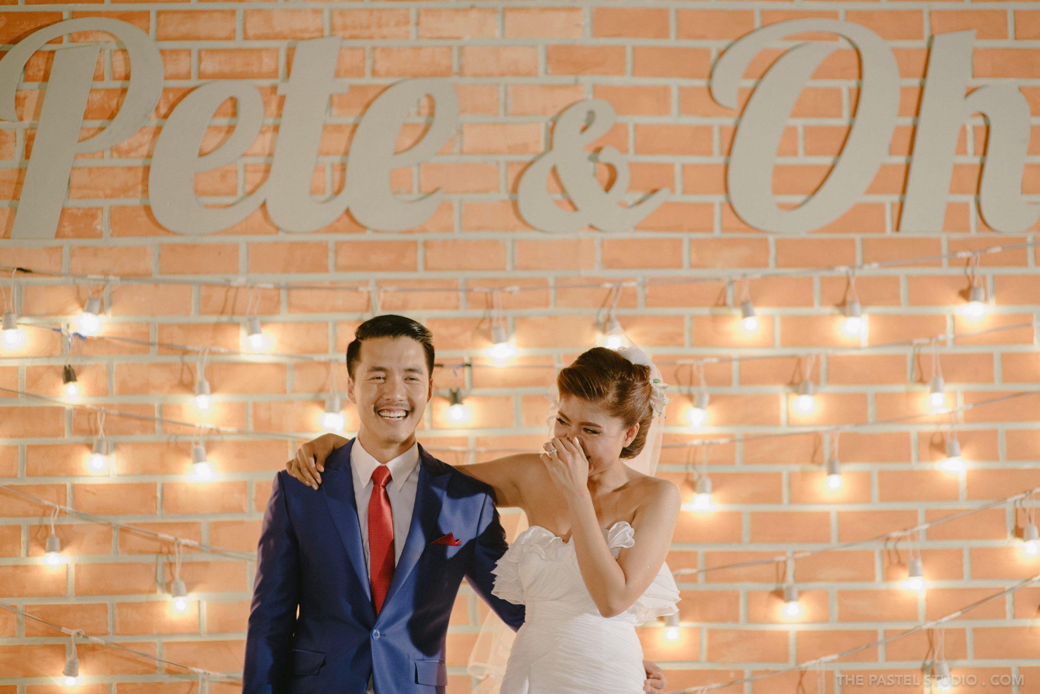 เก็บบรรยากาศงานแต่งงานสุดแนว จัดแบบเรียบง่าย แต่โดนใจ