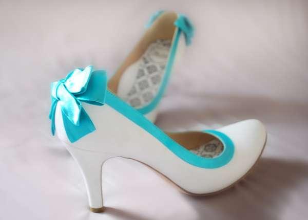 รองเท้าเจ้าสาวสุดน่ารักแนวเรโทร ที่คุณก็ตกแต่งเองได้
