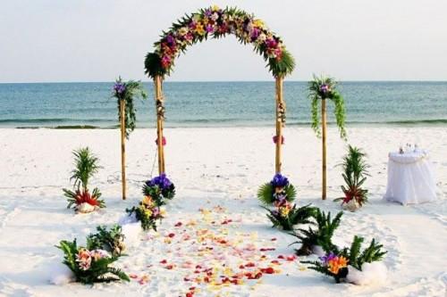 ไอเดียซุ้มแต่งงานริมทะลแสนสวย ที่คุณสามารถนำไปประยุกต์ได้หลายแบบ