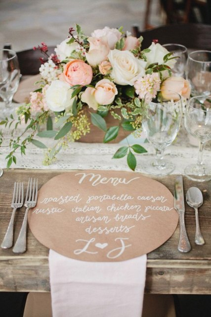 24-Ways-To-Use-Kraft-Paper-In-Your-Wedding