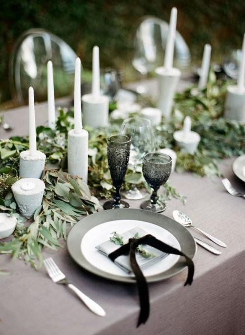 25-enchanting-winter-wedding-ideas-in-grey-shades-16-500x682