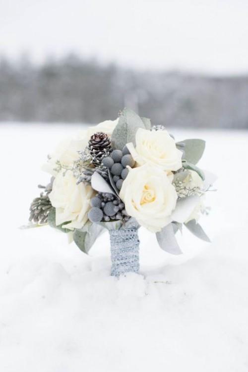 25-enchanting-winter-wedding-ideas-in-grey-shades-3-500x751