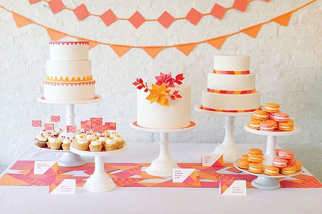 7-spring-bridal-shower-pink-and-orange-645x429