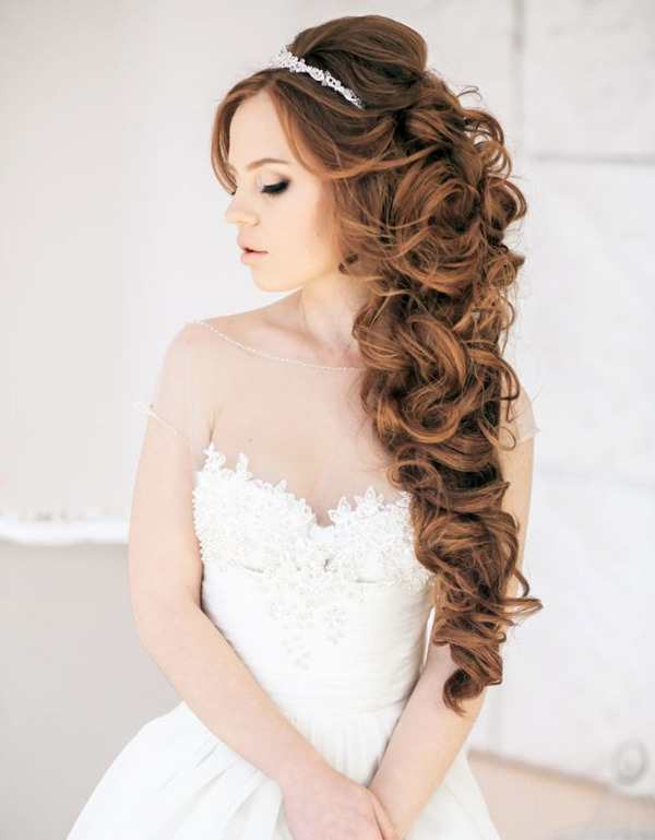 down-wedding-hairstyles-for-long-hairs-with-bridal-headpieces