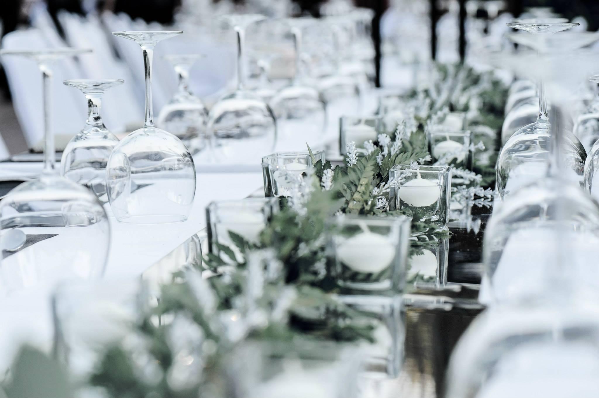 ธีมงานแต่ง โทนสีขาว โดย PHKA Floral Design Studio