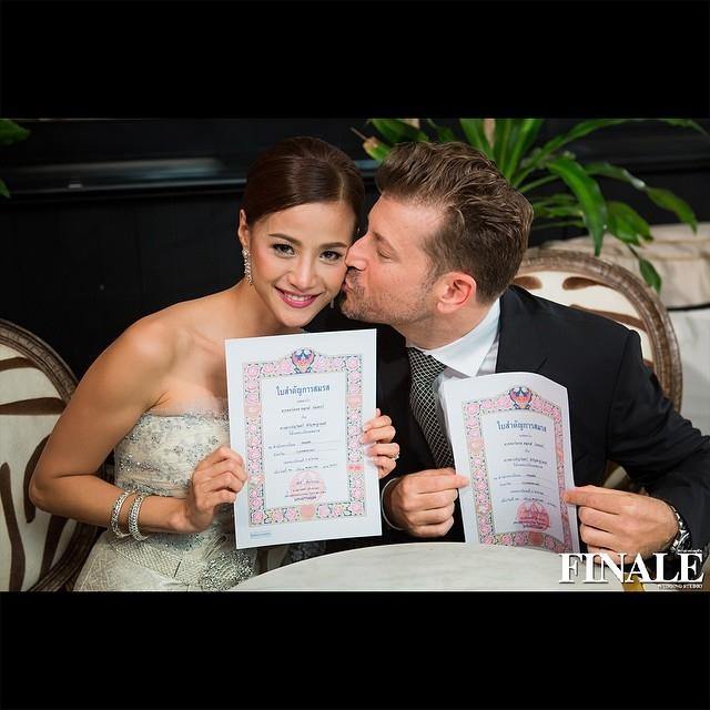 บรรยากาศงานแต่งงาน น้ำฝน กุณณัฏฐ์-จอร์แดน วินเทอร์