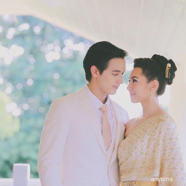 เจมส์-เบลล่า กับฉากแต่งงานแบบพิธีไทย