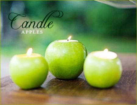 Apple-Decor-Wedding-Candles…-450x347