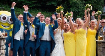 จัดงานแต่งธีม มินเนี่ยน เหลือง ๆ ฟ้าๆ น่ารักสุด ๆ