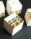 กล่องของขวัญน่ารักแนว Art Deco ทำเองก็ได้ง่ายนะ