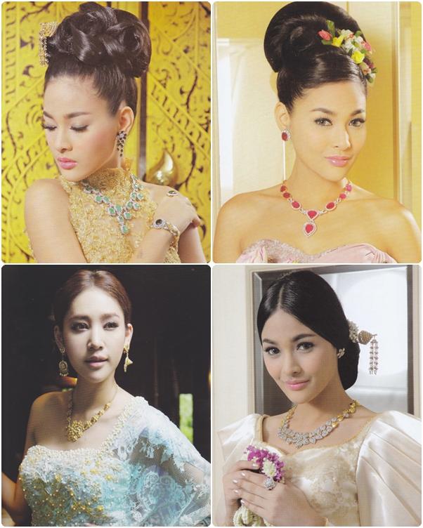 แบบทรงผมเจ้าสาวชุดไทย ทั้งหวานทั้งเป๊ะได้ใจ