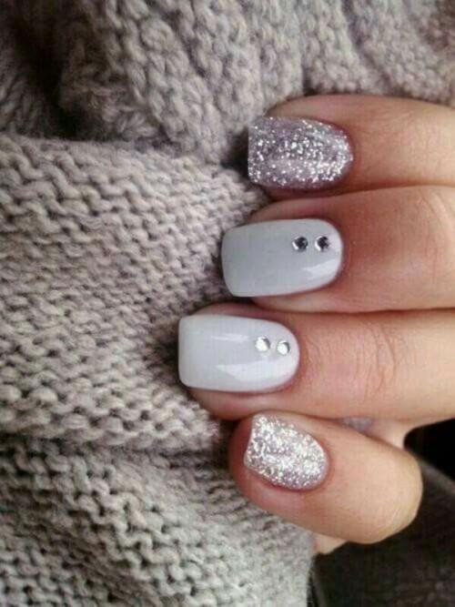 25-enchanting-winter-wedding-ideas-in-grey-shades-9-500x667