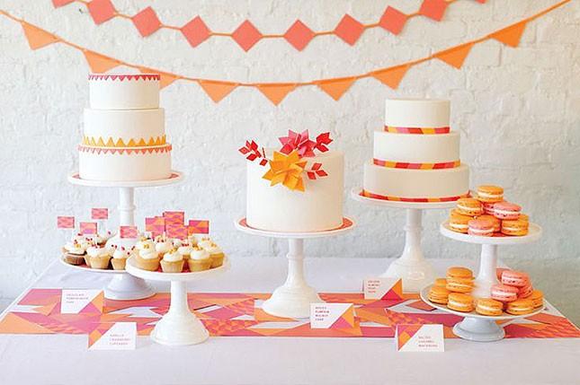 7-spring-bridal-shower-pink-and-orange-645x429